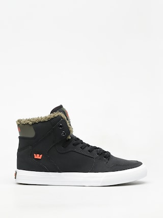 Supra Vaider Shoes (black/olive night white)