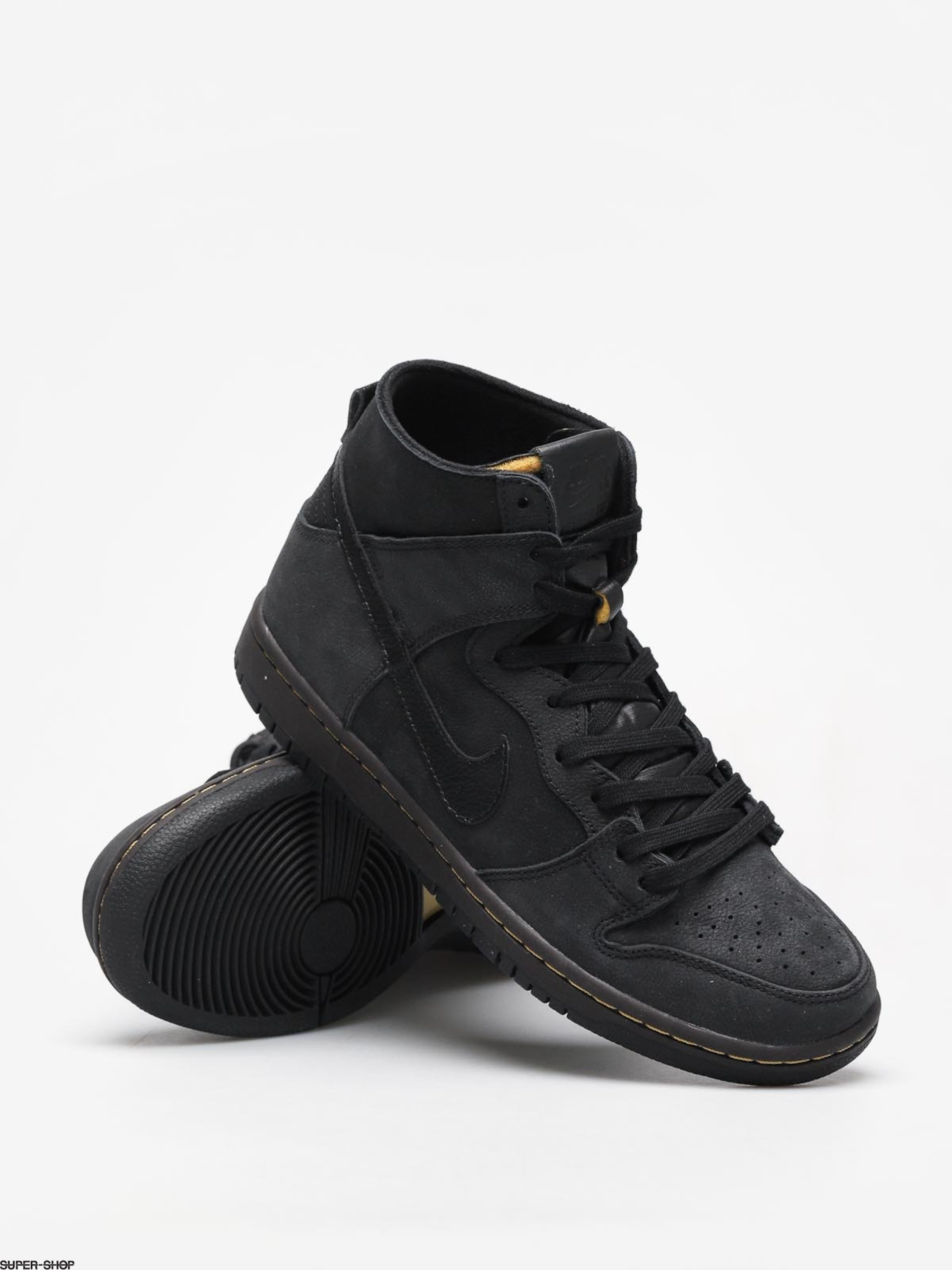 new concept 3871b 5a146 Nike SB Sb Zoom Dunk High Pro Deconstructed Premium Shoes (black/black  velvet brown peat moss)