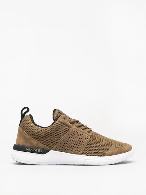 Supra Scissor Shoes (olive/black white)
