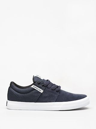 Supra Stacks Vulc II Shoes (navy/white white)