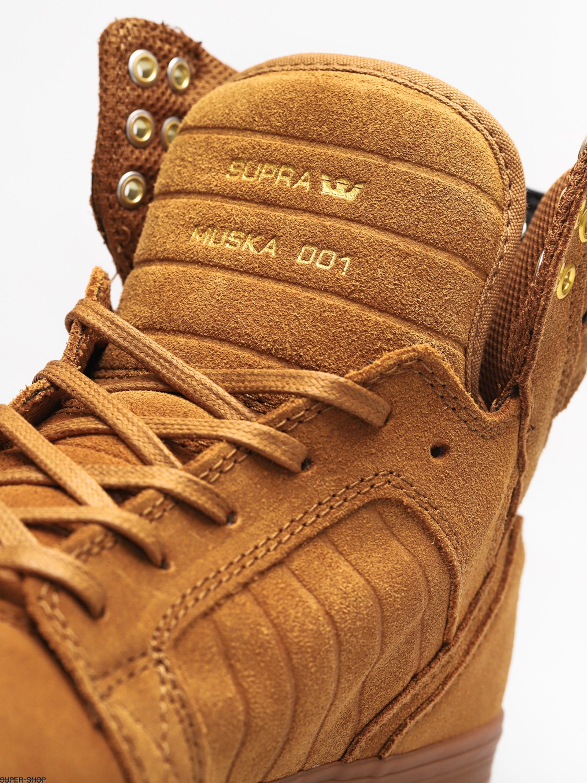 2c980cd30d9 Supra Skytop Shoes (tan/lt gum)