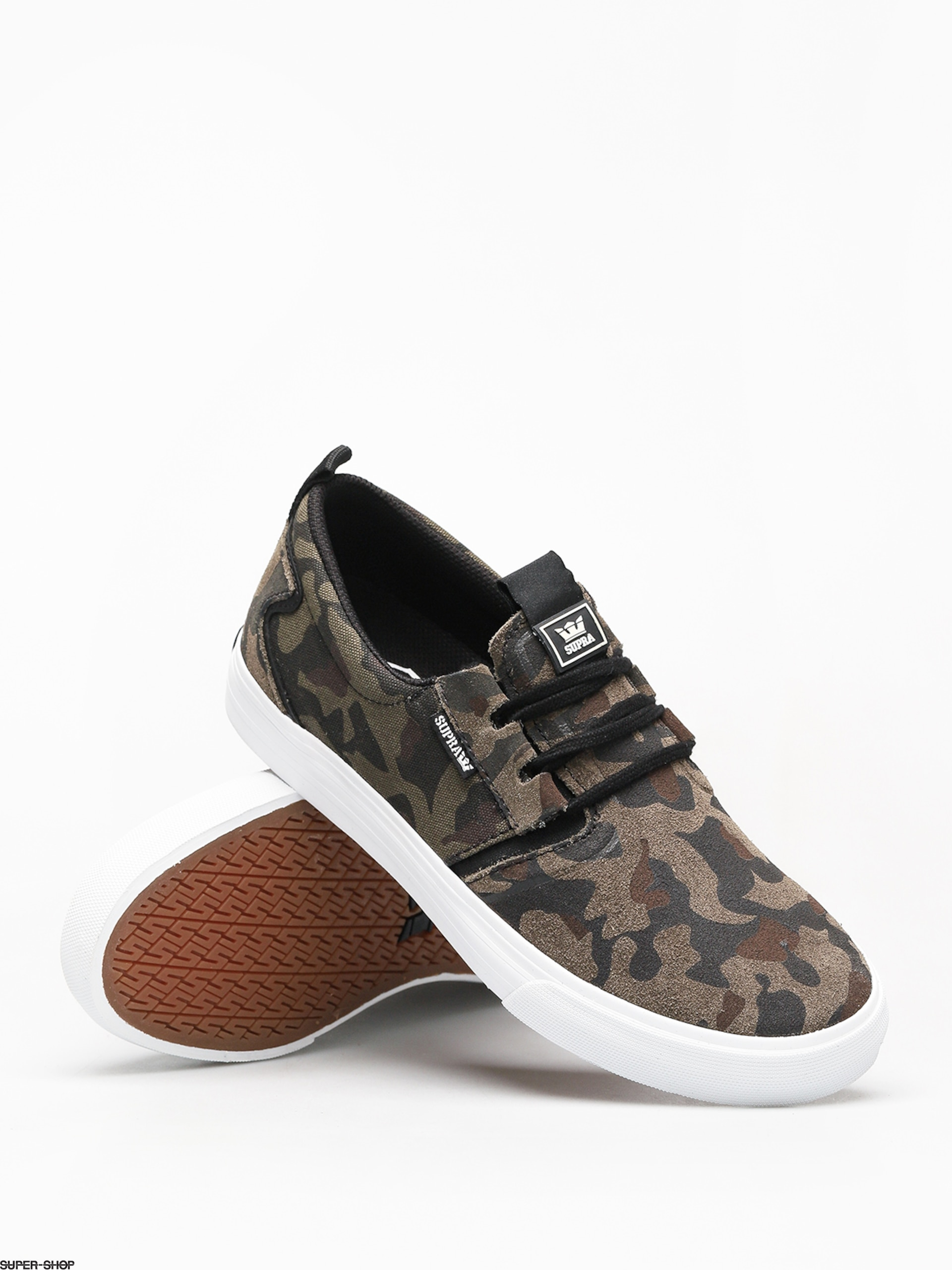 3d1e7c61f832 Supra Flow Shoes (camo white)