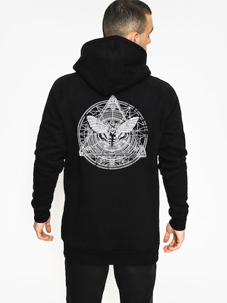 The Hive Hoodie Moth HD (black)