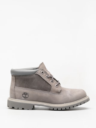 Timberland Nellie Chk Lthr Sd Nwp Winter shoes Wmn (steeple grey)