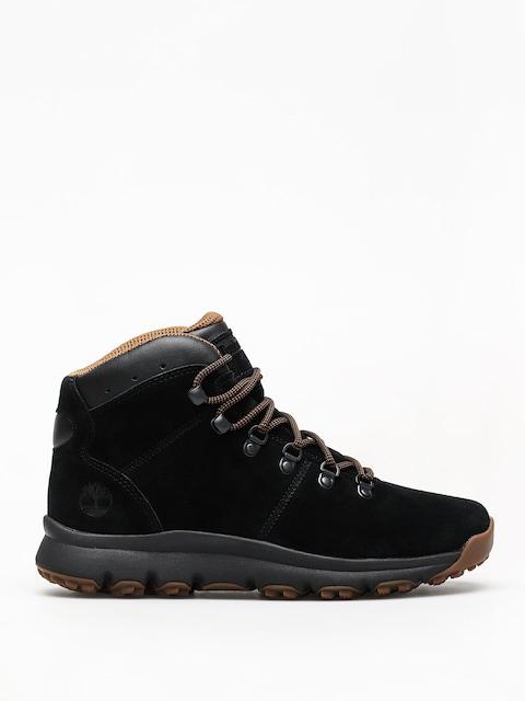Timberland World Hiker Mid Winter shoes (jet black)