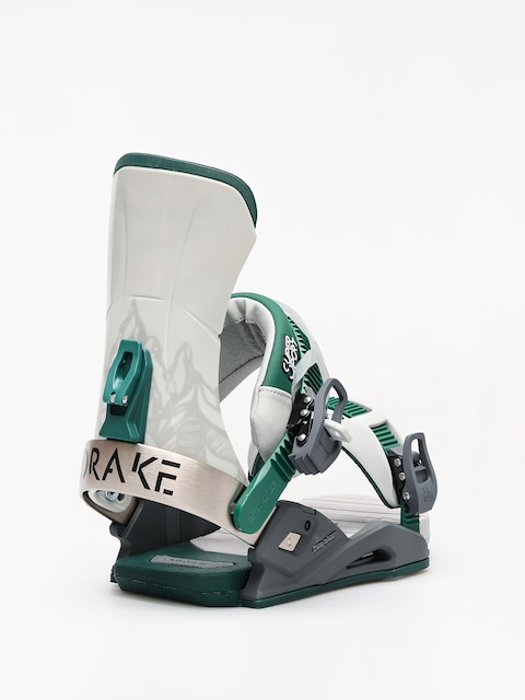Drake Super Sport Snowboard bindings (grey/black/green)