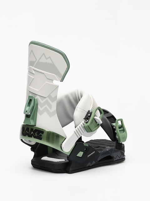 Drake Reload Snowboard bindings (black/grey/green)