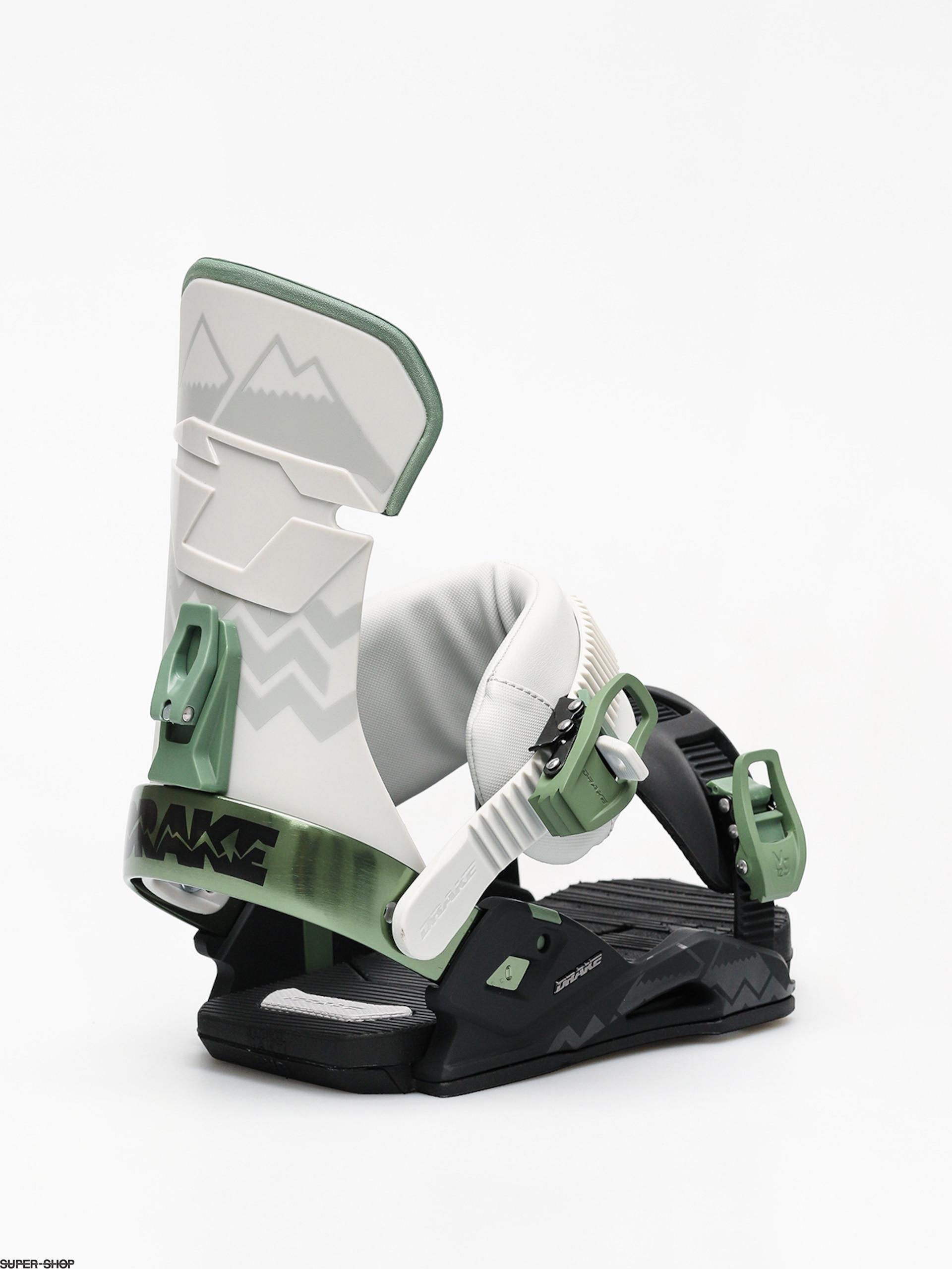 406e6dd1a0a Drake Reload Snowboard bindings (black grey green)