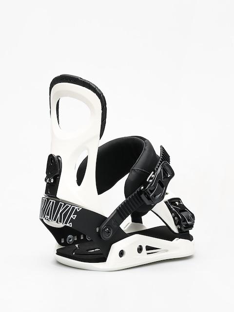 Drake King Snowboard bindings (white)