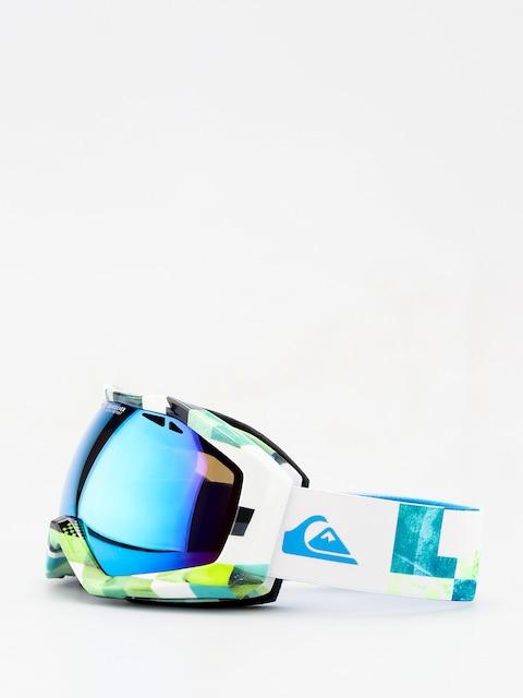 Quiksilver Fenom Art Serie Goggles (check atomic green)