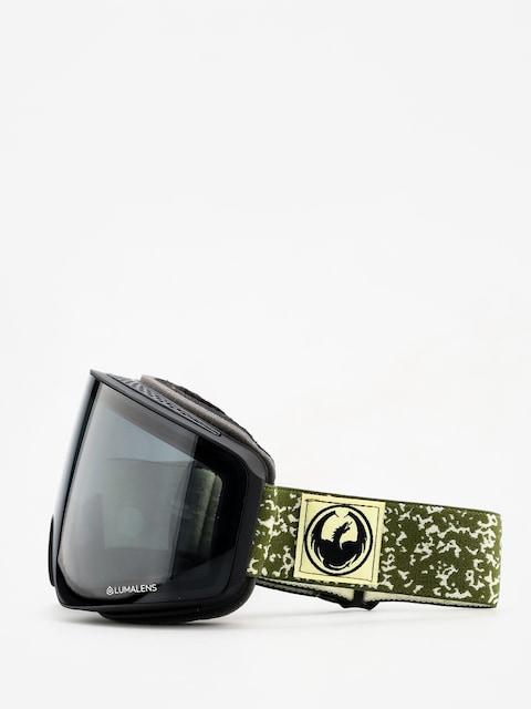 Dragon PXV Goggles (scribe/dark smoke/lumalens flash blue/lumalens rose)