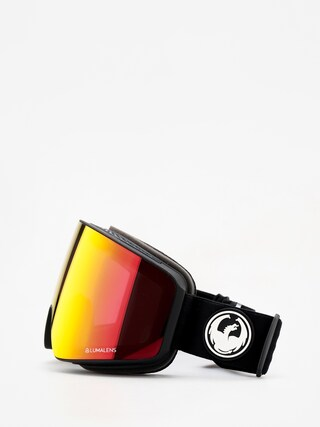 Dragon PXV Goggles (black/lumalens red ion/lumalens rose)