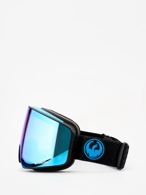 Dragon PXV Goggles (split/lumalens blue ion/lumalens amber)