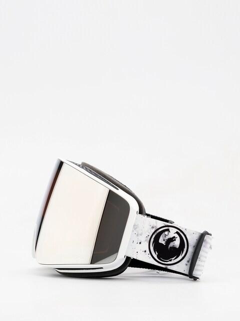 Dragon PXV Goggles (galaxy white/lumalens silver ion/dark smoke)