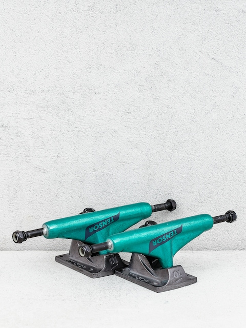 Tensor Alum Reg Tens Flick Trucks (teal/black)