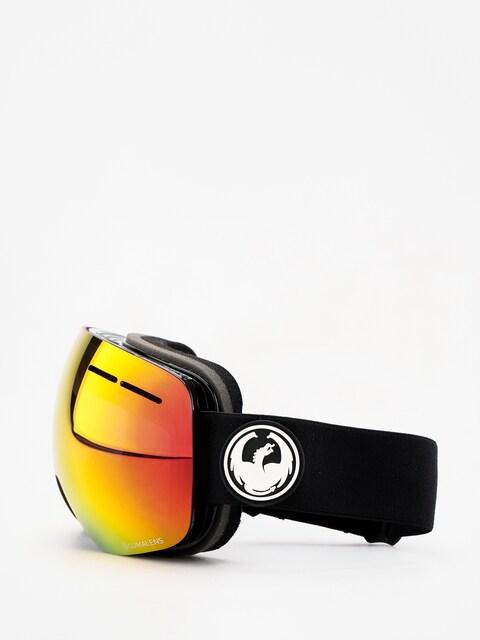 Dragon X1s Goggles (black/lumalens red ion/lumalens rose)