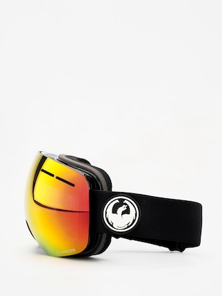 Dragon X1s Goggles (black/lumalens red ion/lumalens rose)