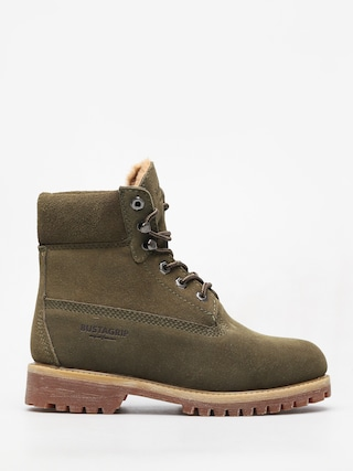 Bustagrip King Suede Warm Shoes Wmn (olv+war)